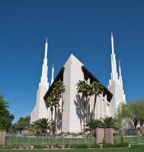 Las Vegas Nevada LDS Temple 1 | by Adam's Attempt (at a good photo)