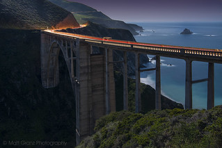 The Bixby Bridge by Moonlight | by Matt Grans Photography