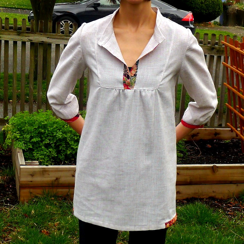 Wiksten Tova Top For The Spring Top Sew Along My First Ent Flickr