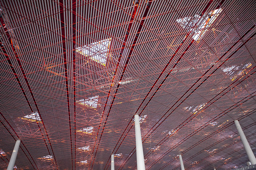 The roof of Beijing Capital International Airport Termial 3 | by DigiPub