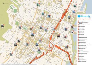 Tourist montreal map pdf