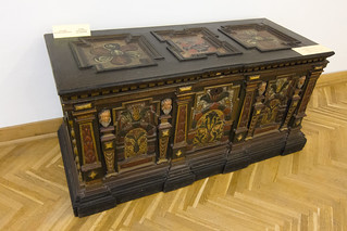 Antique Romanian chest | by quinet