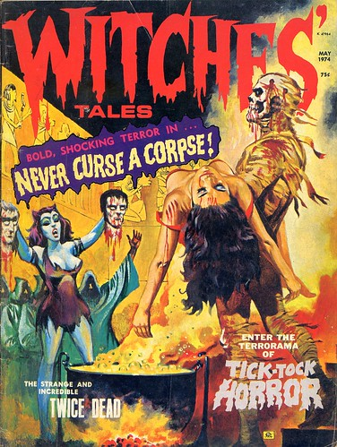 Witches' Tales v6 n3 [May 1974] | by Jim Barker