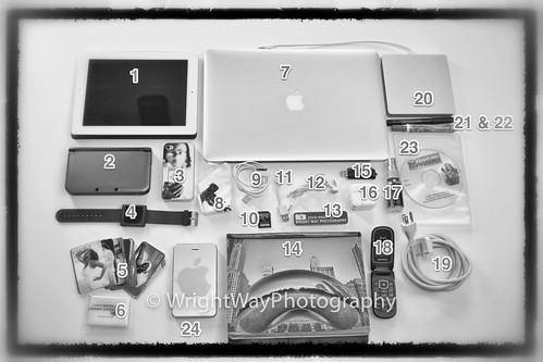 Whats In My Bag 1 Apple Ipad 2 Nintendo 3ds Xl 3 Iphone 4 Flickr