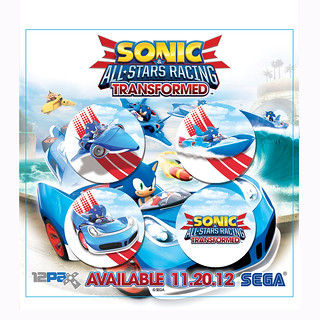 Sonic & All-Stars Racing Transformed buttons | by SEGA of America