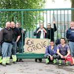 Arrêt de travail de 72 heures à la commune de Quaregnon.