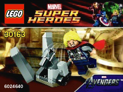 30163 - Thor and the Cosmic Cube | by fbtb