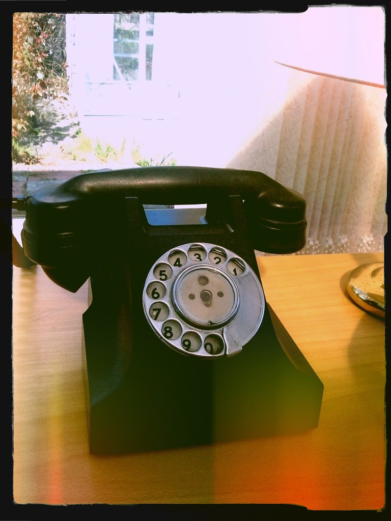 Old telephone | :) found this in my grandads garage