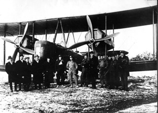 Vickers Vimy, Keith and Ross Smith at Hounslow Heath, London, Nov 1919 | by MothInBoots