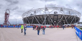London Olympic Stadium and The Orbit | by timusPics