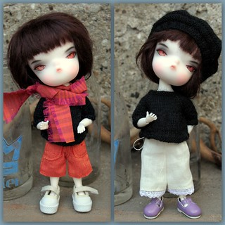 "Luca wearing ""Nixi Pixi Pudding & Pie"" 