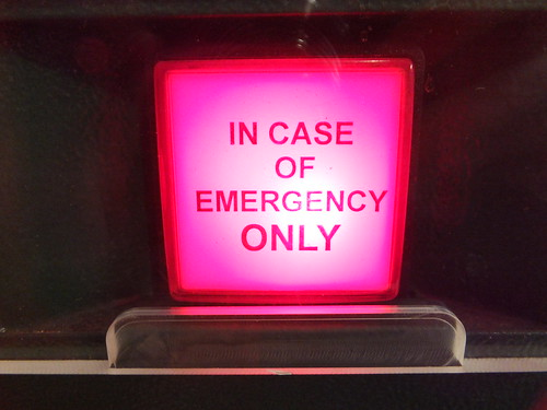 In case of emergency only | by James Cridland