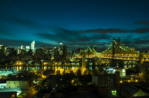 Queensboro Bridge by night | by Maxime Plantady