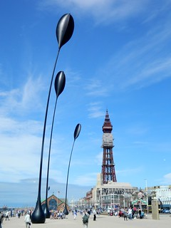 Blackpool Tower and ??? | by Manoo Mistry