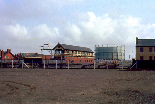 R2454.  Blackpool Central Signalbox. July,1965. | by Ron Fisher