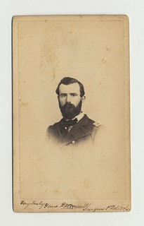 Surgeon-in-chief David W. Maull, carte-de-visite by Garrett's, Wilmington, Delaware, 1860s | by national museum of american history