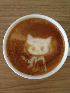 Today's latte, Jean-Luc Picat. | by yukop