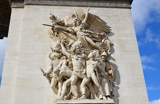 Arc de Triomphe, completed 1836 (7) | by Prof. Mortel