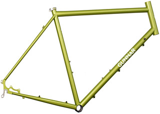 Gunnar Fastlane in Green Orchid | by Gunnar Cycles