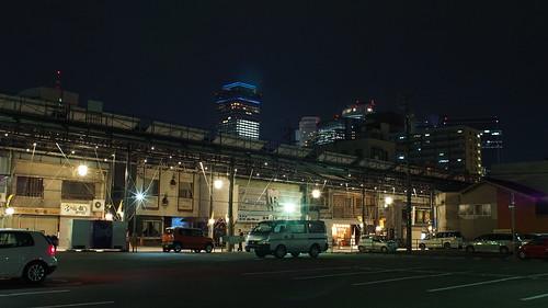 Nagoya night photo, Nokton17.5mm0.95
