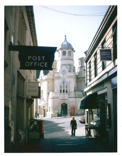 The Shambles Bradford on Avon FP100C | by wolfiepix