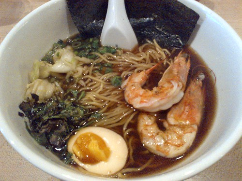 Prawn Ramen with Red Miso at Momofuku Noodle Bar | by One Food Guy