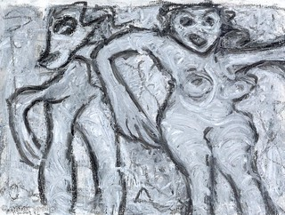 Anya and her demon - My Art Journal 2012-03-1 #018 | by Peter Seelig