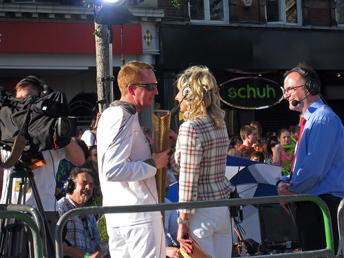 The Olympic Torch visits Nottingham | by Flickr Al