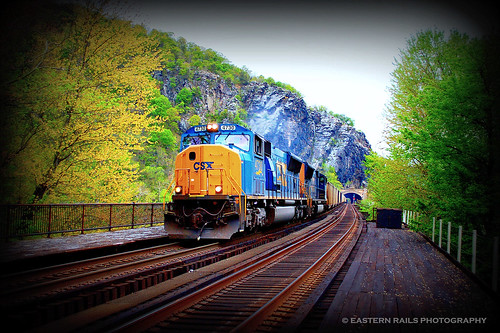 Harpers Ferry, WV - 4/14/12 | by Christopher & Amy Cate / Eastern Rails Photography