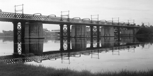 Old Meadowbank Rail Bridge - west side | by bdayling