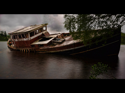 Old Wreck - Fort Augustus | by Michael Carver Photography