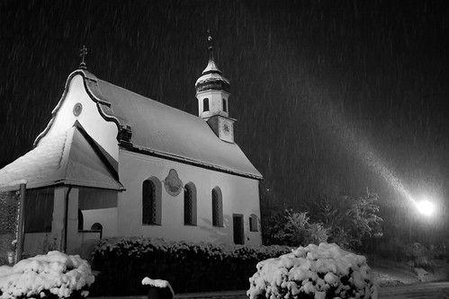 Kranebitten Church Innsbruck BW | by Nick Young Photos
