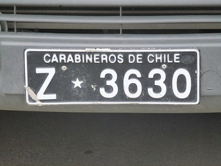 STF067 - Chilean number plate - 11 Jan 2012 | by Traveller Extraordinaire