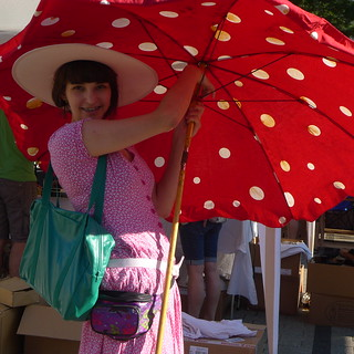 Summer is this week. Parasols are mushrooming. | by ScaryLily