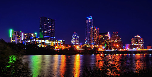 Austin from Auditorium Shores | by Robert Hensley