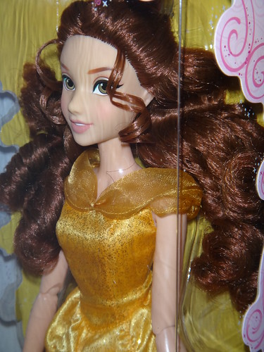 2012 Disney Store Singing Princess Dolls - Belle Boxed - Portrait Right Front View | by drj1828