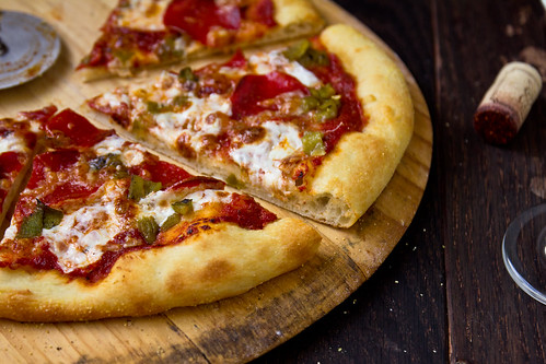 Hatch Chile & Pepperoni Pizza | by TheBrewer&TheBaker