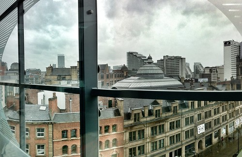 Manchester from the National @footballmuseum | by johnthurm