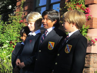 First Day of School 2012 | by Convent & Stuart Hall