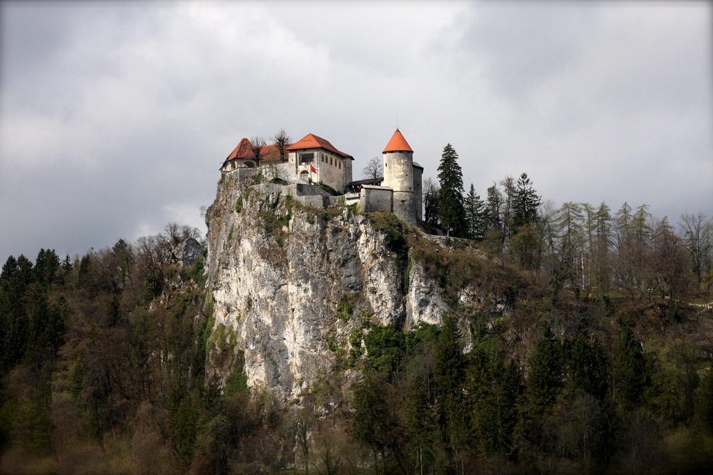 Castle, Lake Bled