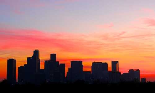 Houston Skyline at Sunrise | by J-a-x