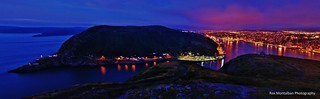 stitched panorama of st john's newfoundland (EXPLORED) | by Rex Montalban Photography