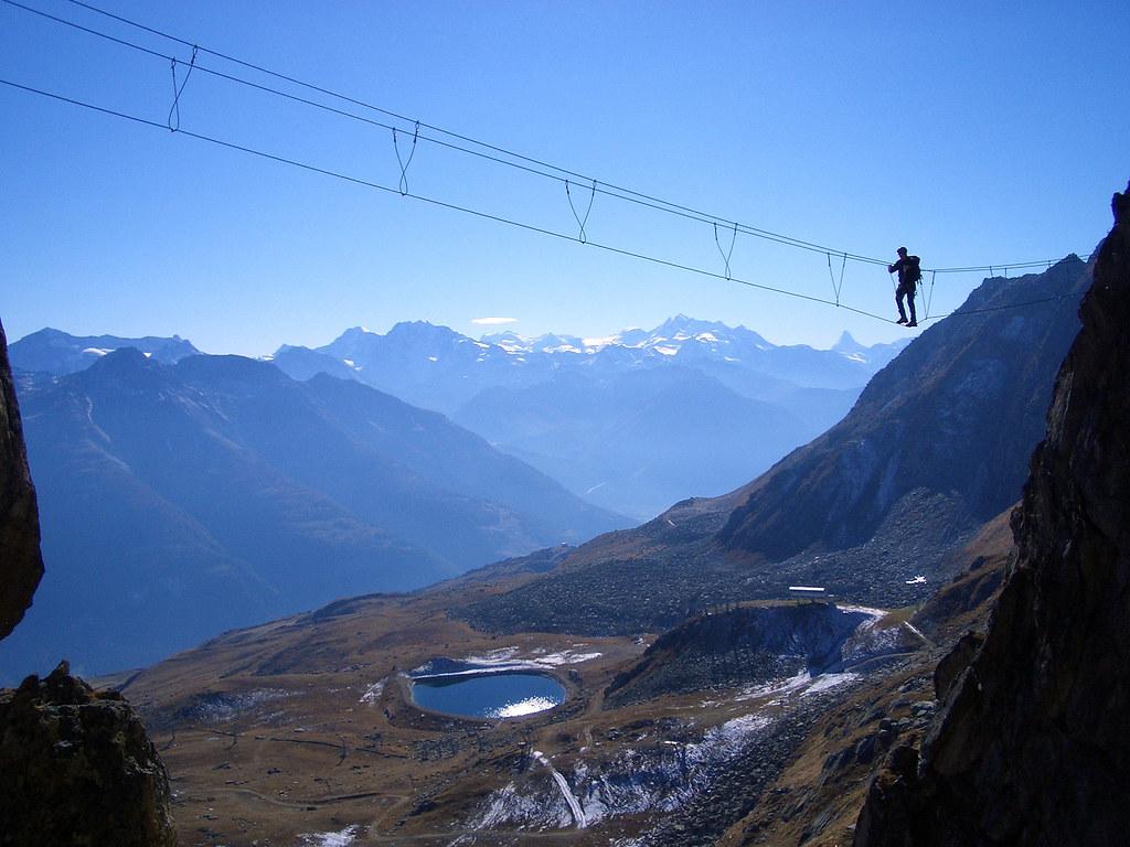 Klettersteig Eggishorn : Aletsch arena klettersteig eggishorn aletscharena nach u flickr
