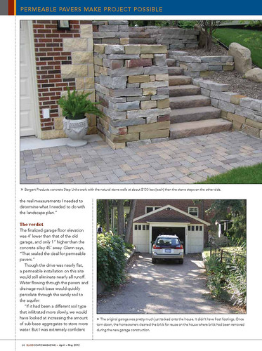 hardscape magazine april may 2012 issue permeable paver flickr