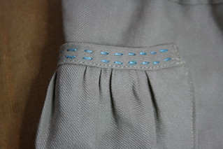 Puppet Show Shorts - pocket detail | by KatyBellaBug