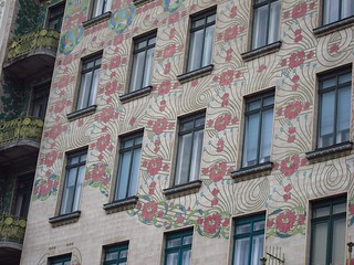 Otto Wagner Art Nouveau Apartment Building | by fabulousfabs