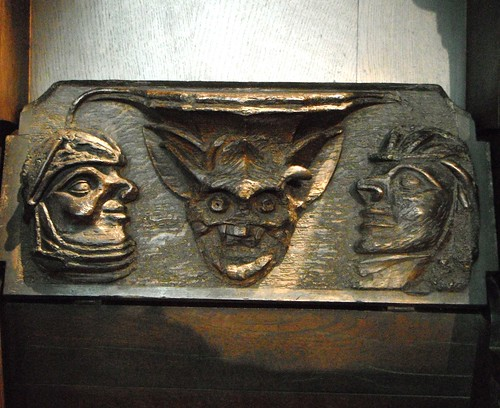 Misericord, Holy Trinity, Stratford-upon-Avon | by Gruenemann