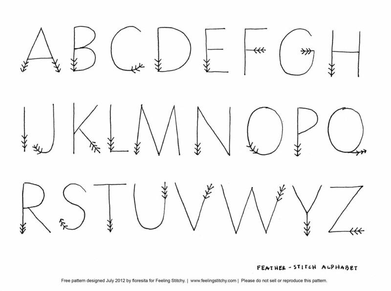 Free alphabet design