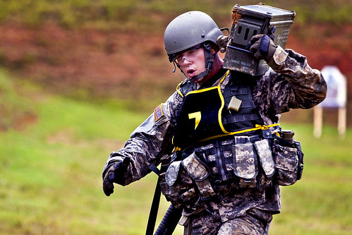 Best Warrior Army Staff Sgt Beau Detrick Carries A