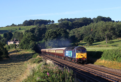 47818 Northern Belle charter at Chevin | by paul45111